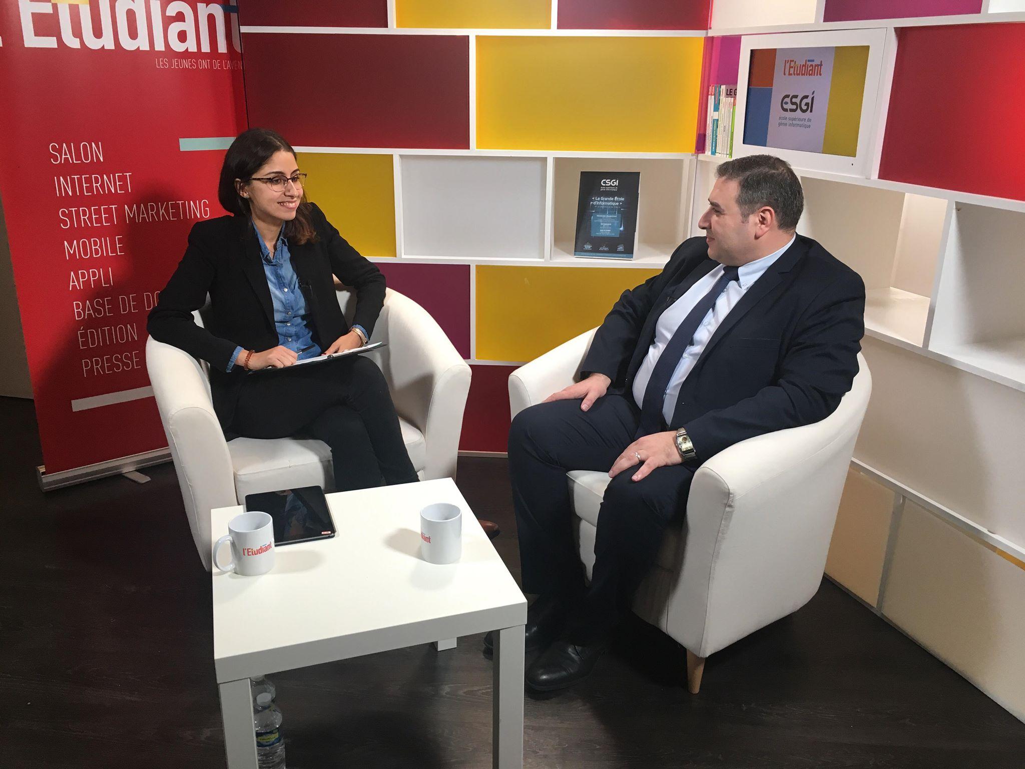 INTERVIEW DIRECTEUR ESGI KAMAL HENNOU