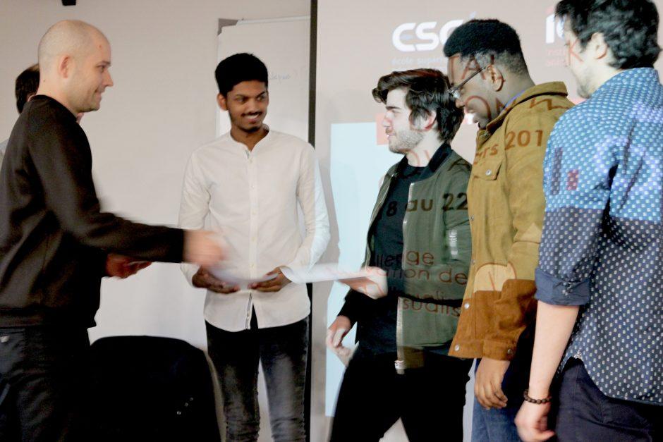 Hackathon GES 2019 remise de prix